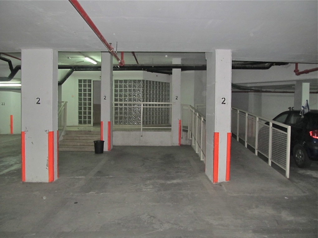 Underground secure parking with designated parking space right next to elevator entrance. Ramp. Handicapped accessible.